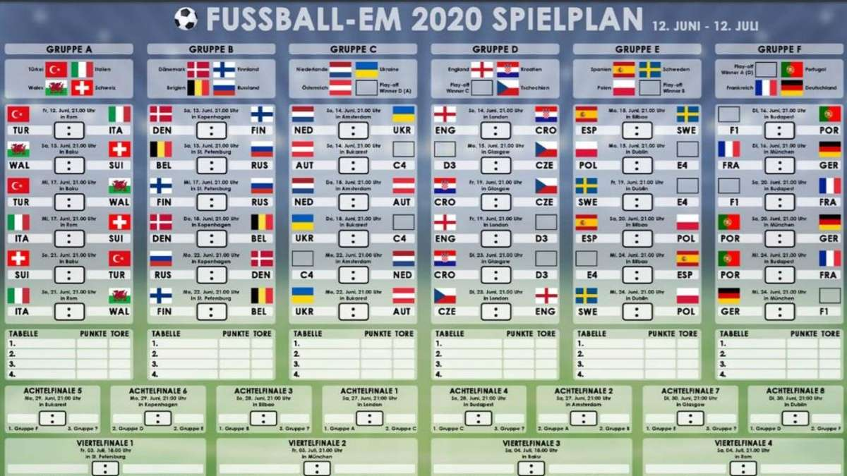 Termine Viertelfinale Em 2021
