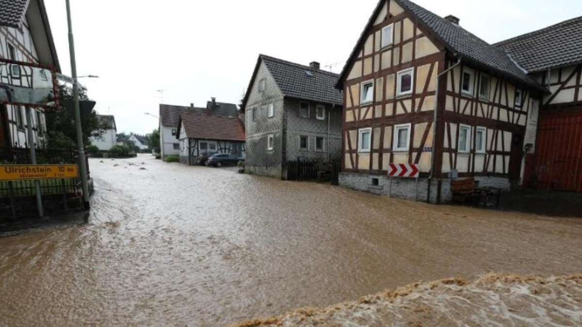 Unwetter Rhein Main