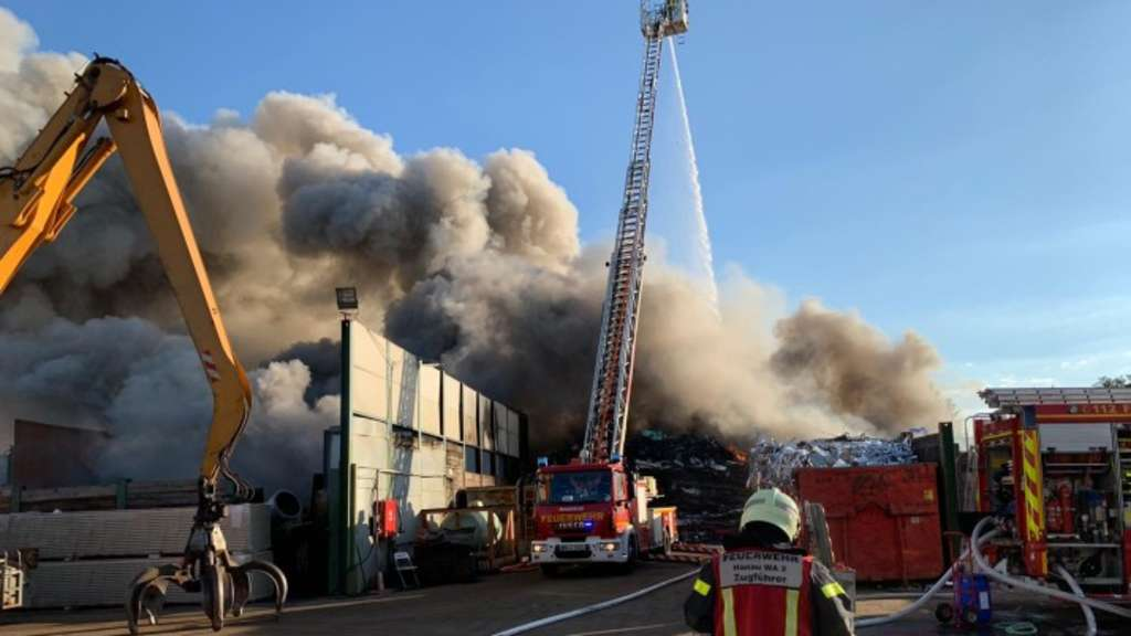 Großbrand Hanau