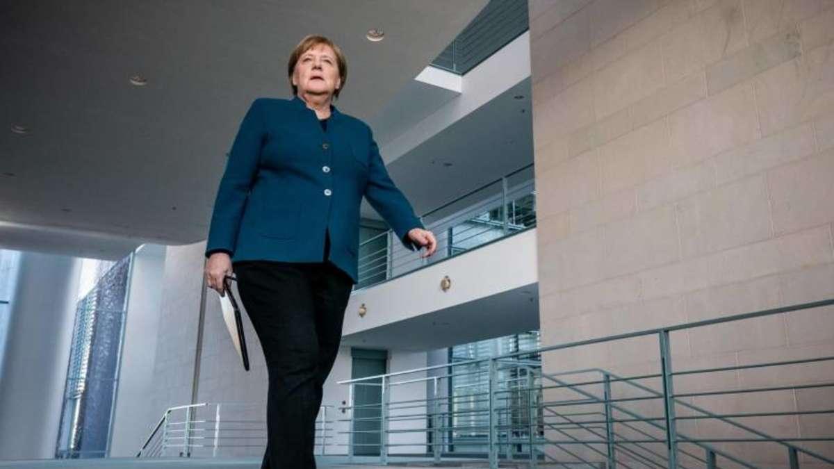 Merkel Muss In Quarantäne