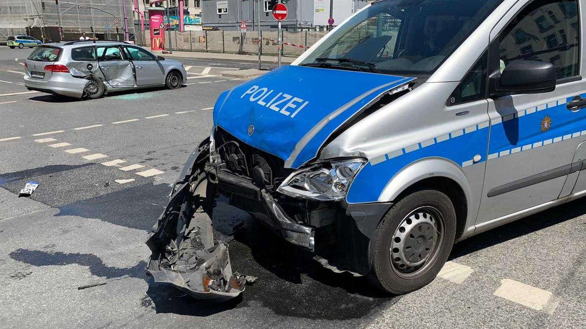 Frankfurt Nachrichten Unfall