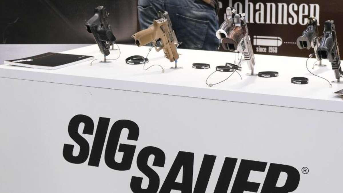 Waffenproduzent Sig Sauer stellt Betrieb ein   Politik ...